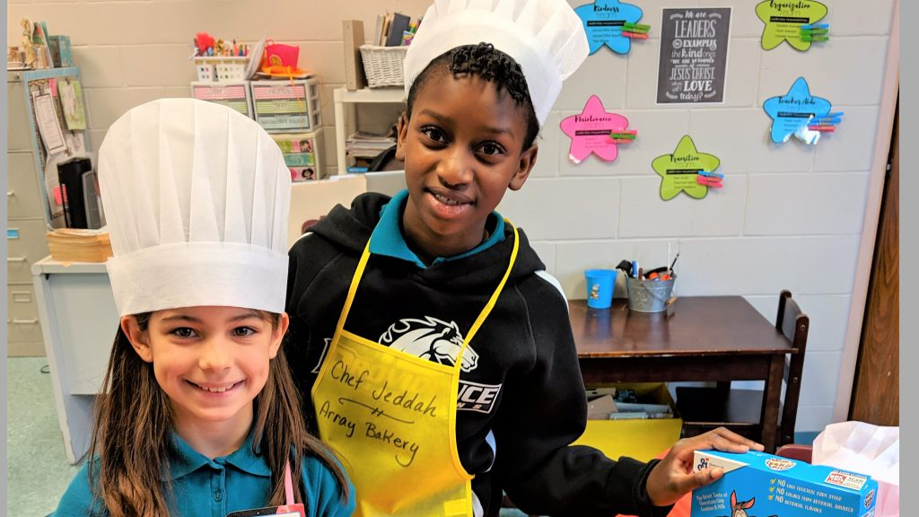 3rd Graders Enjoy Array Bakery School